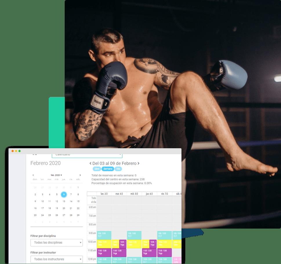 sistema o software para centros de mma o artes marciales