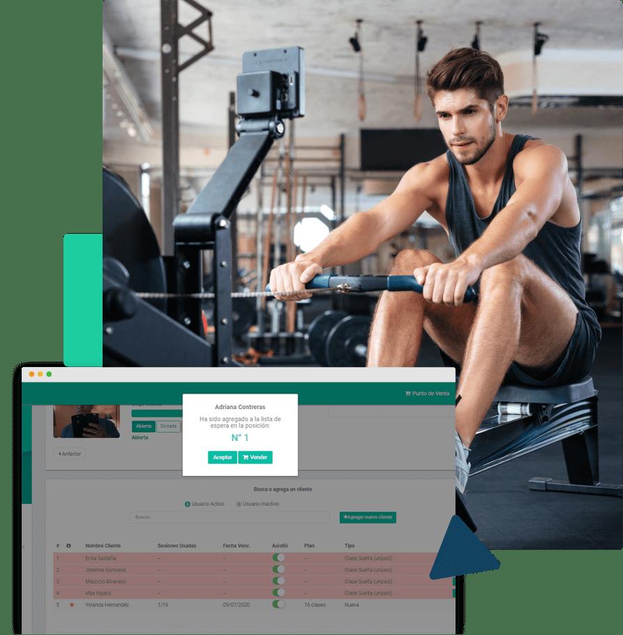 sistema o software para gimnasios