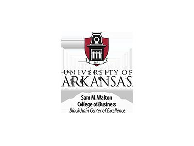 university of arkansas, blockchain center of excellence