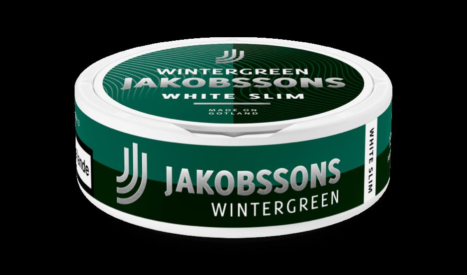 Jakobssons White slim Wintergreen dosa