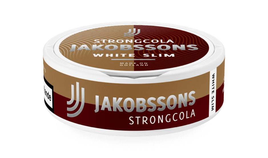 Jakobssons White slim strong cola dosa