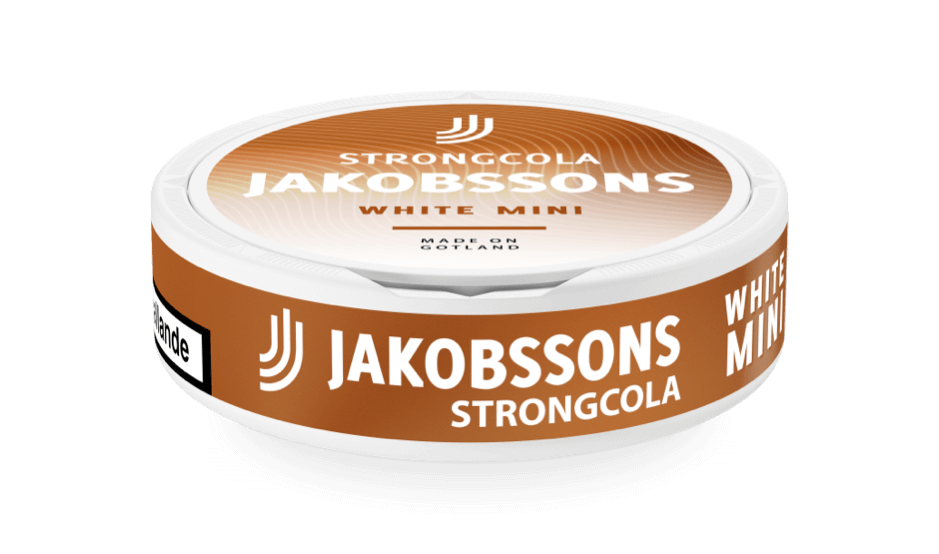 Jakobssons Strong cola white mini dosa