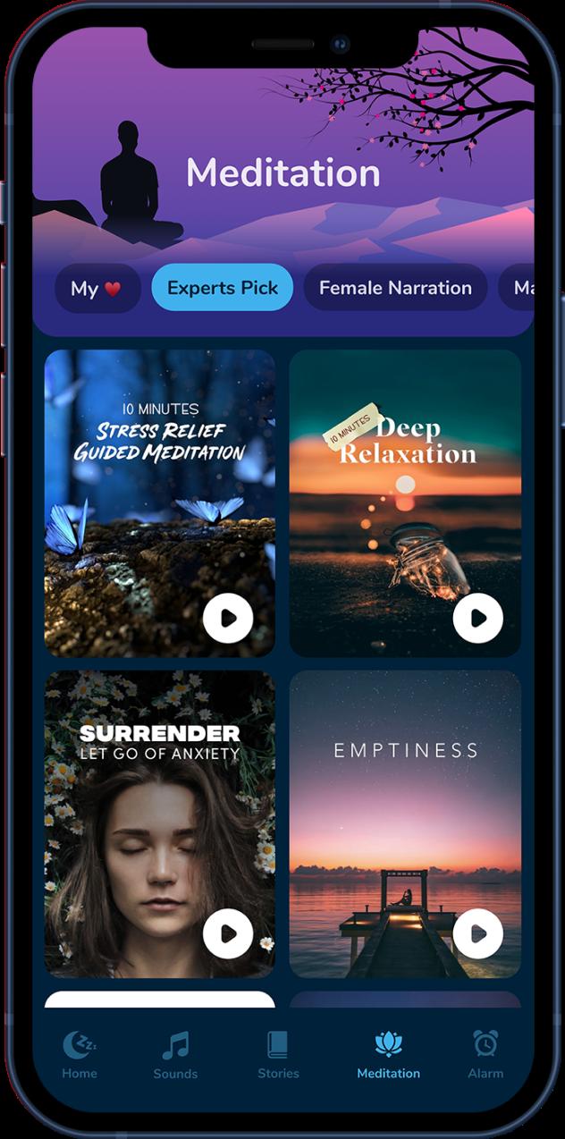 Calmsleep-meditation-mobile-mockup