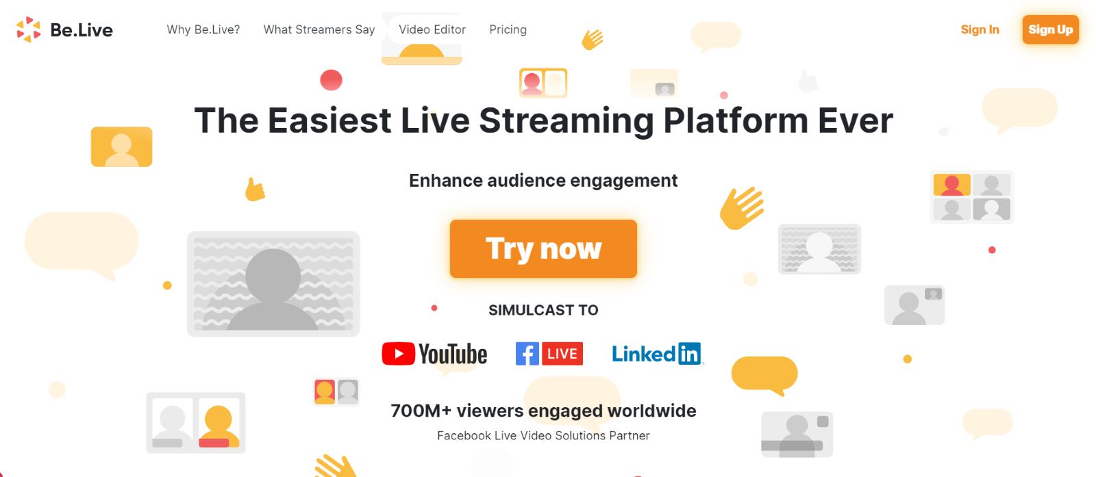 Facebook Live Sale- BeLive | Upraft