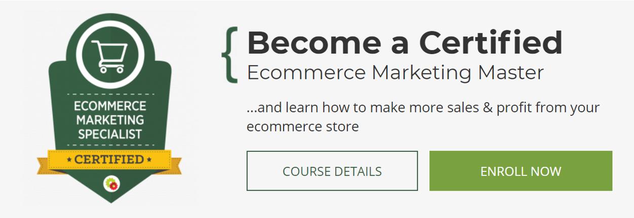 Ecommerce Marketing Mastery- eCommerce Courses 2021