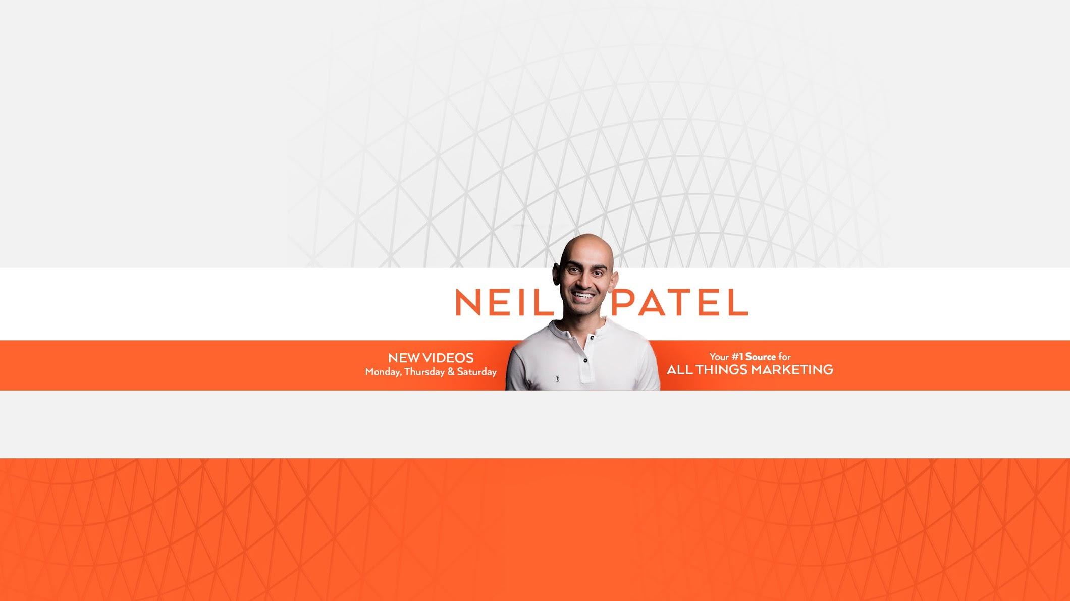 Neil Patel- eCommerce Youtube Channels 2021