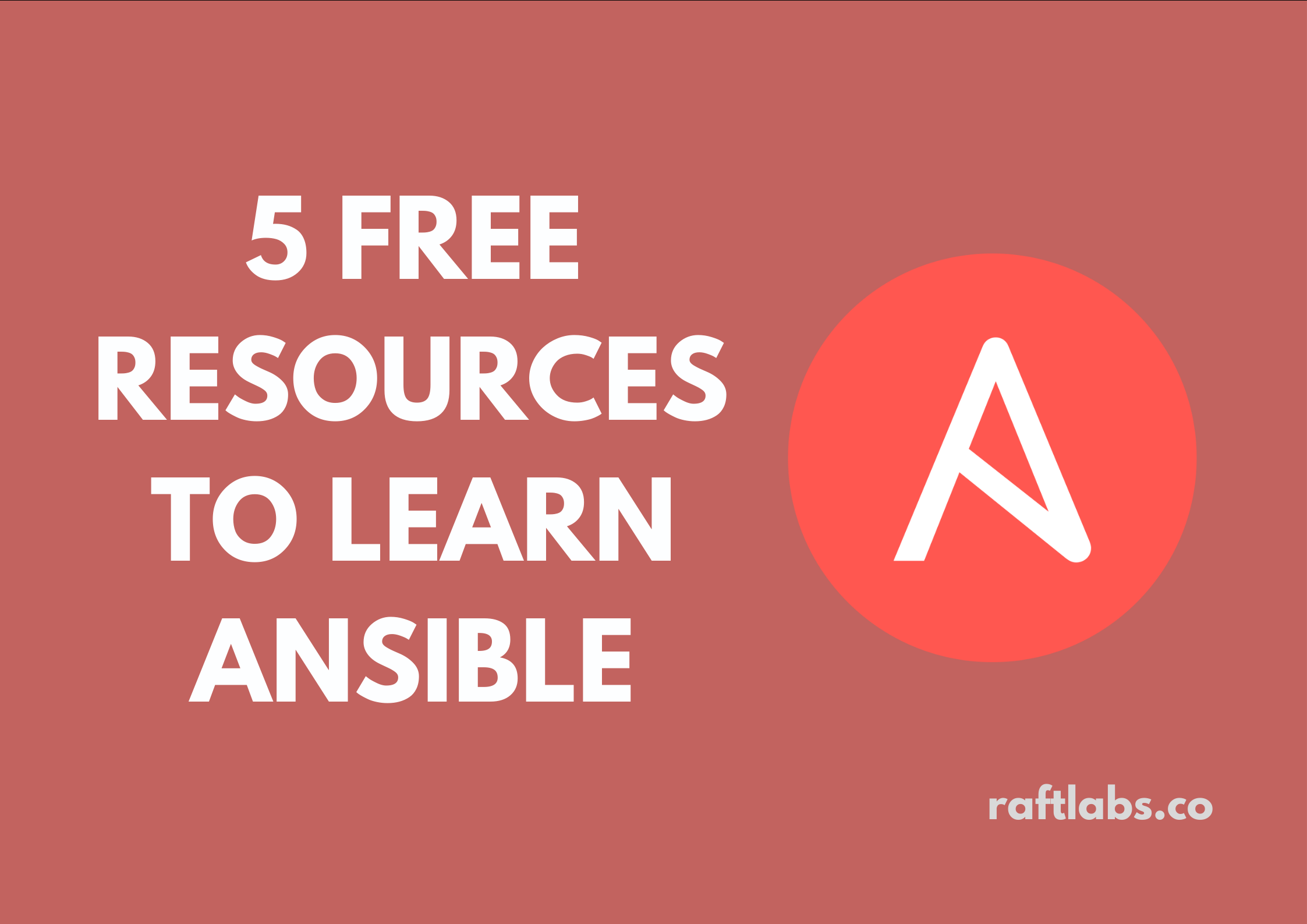 Thumbnail with logo of Ansible