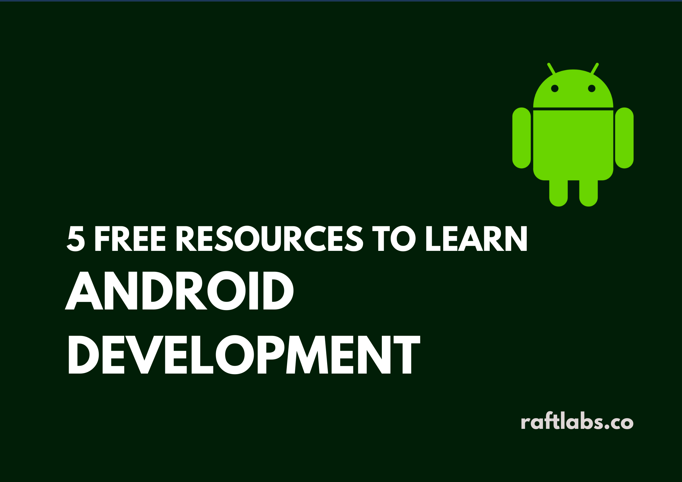 Thumbnail of Free Resources to learn Android Development
