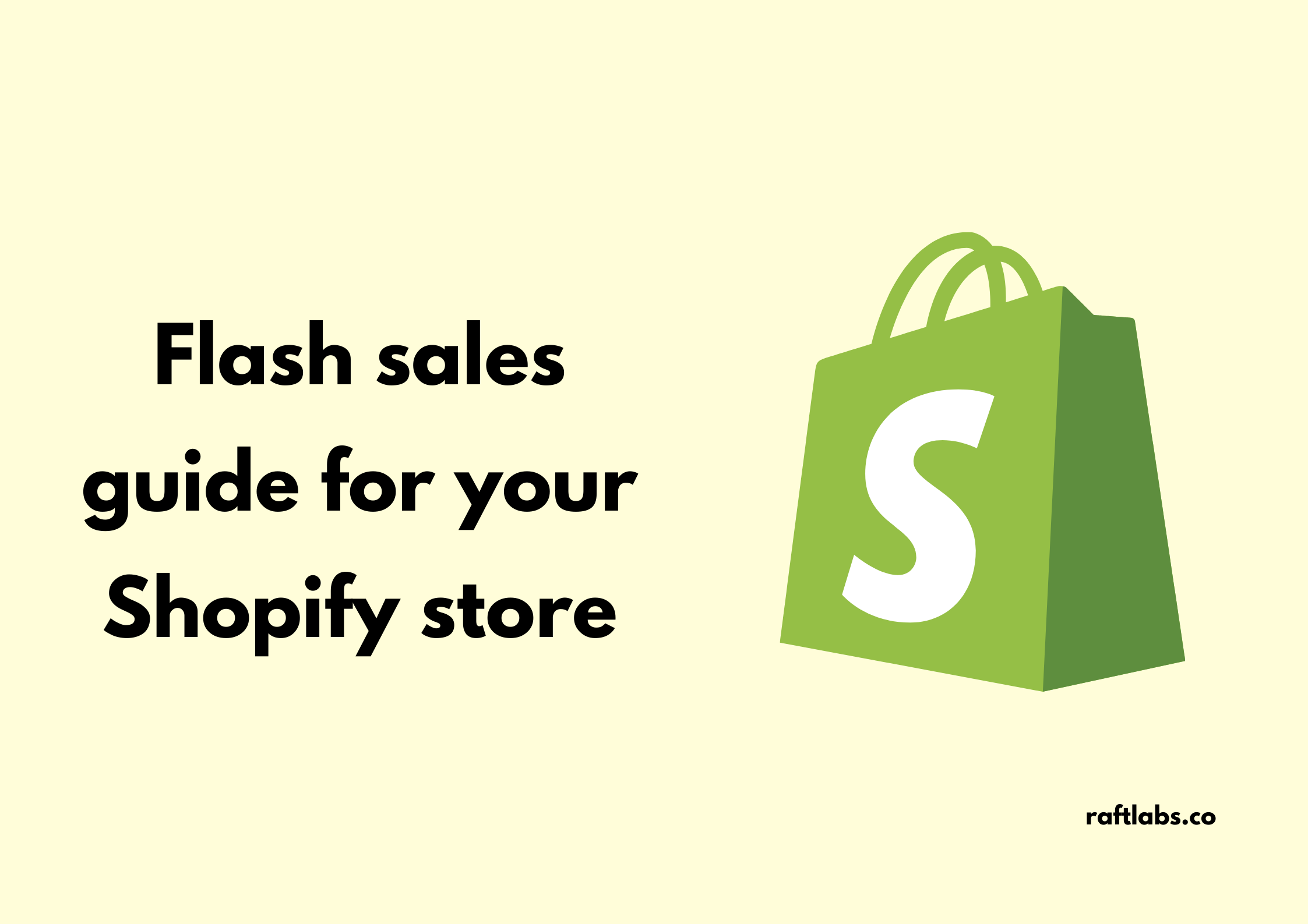 how to run successful flash sales for your shopify app