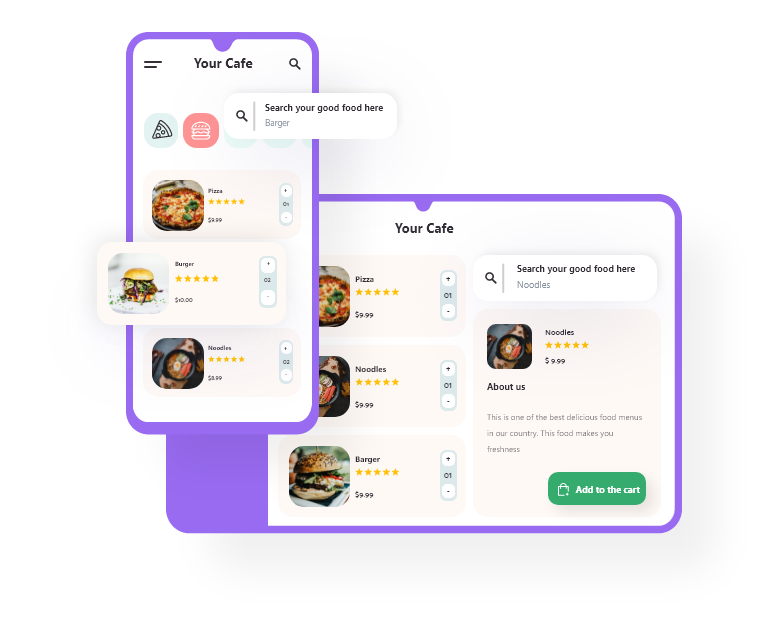 grubly- online food ordering platform