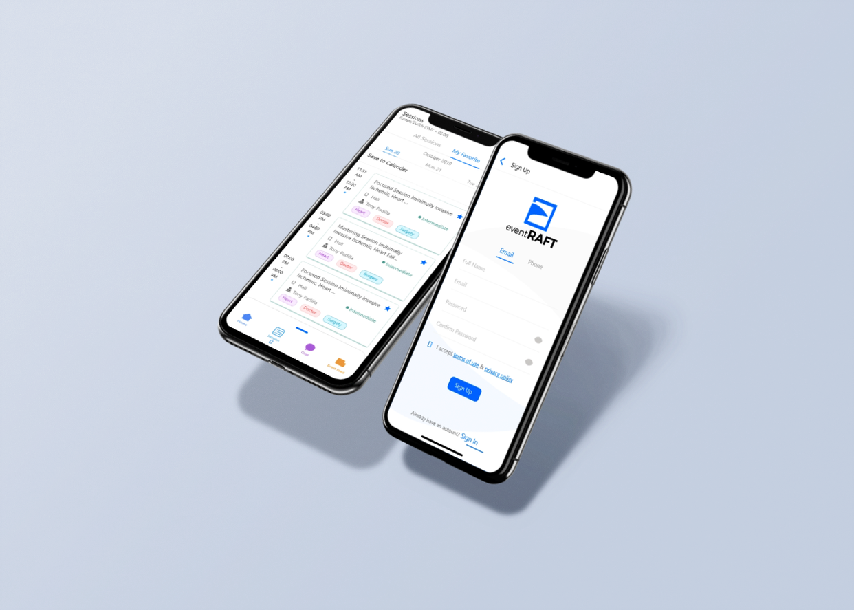 eventraft-mobile app