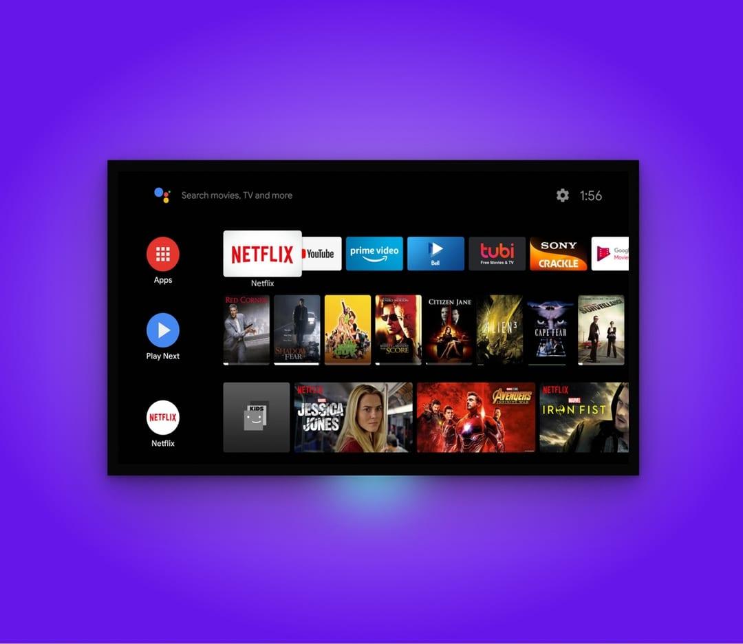 Build custom OTT video streaming platform for Android TV apps.