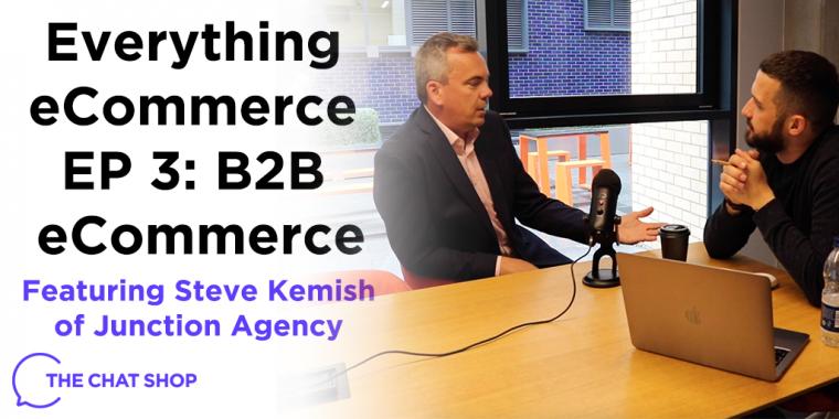 Everything eCommerce Podcast EP 3: B2B eCommerce