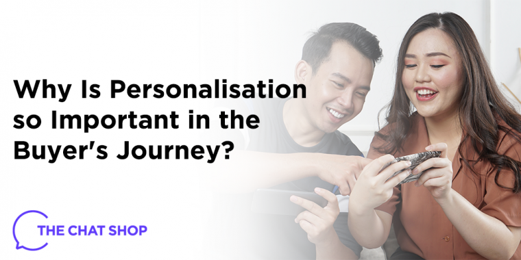 Personalisation as Part of the Buyer's Journey