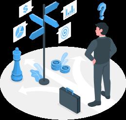 Identifying important organizational opportunities.