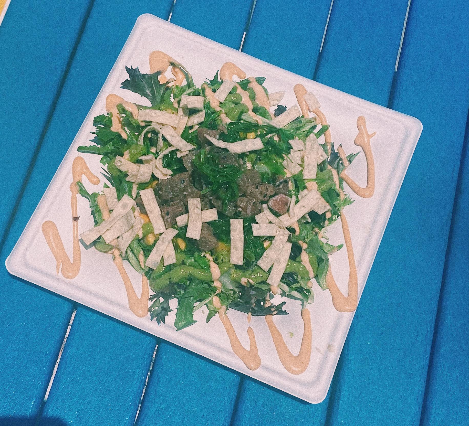 Island Ahi Salad