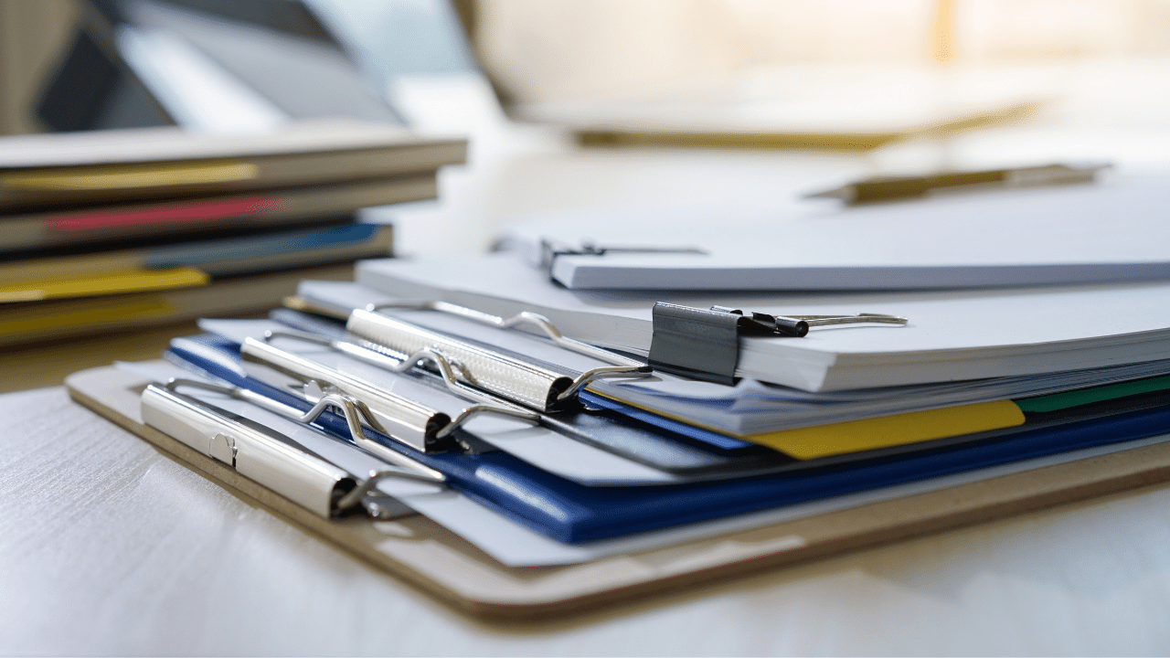 Lista de documentos necessários para alugar um ponto comercial