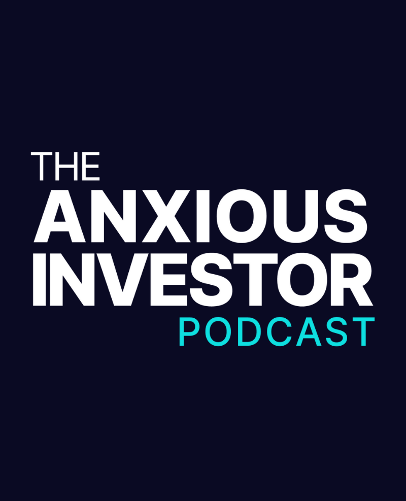 The Anxious Investor podcast logo