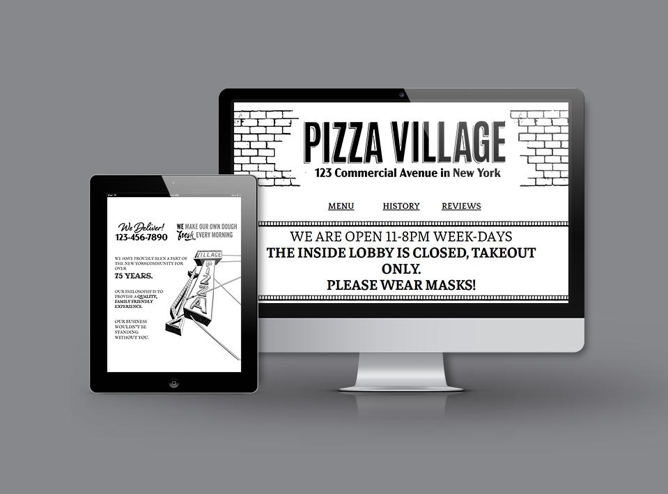 Pizza Village Project Image