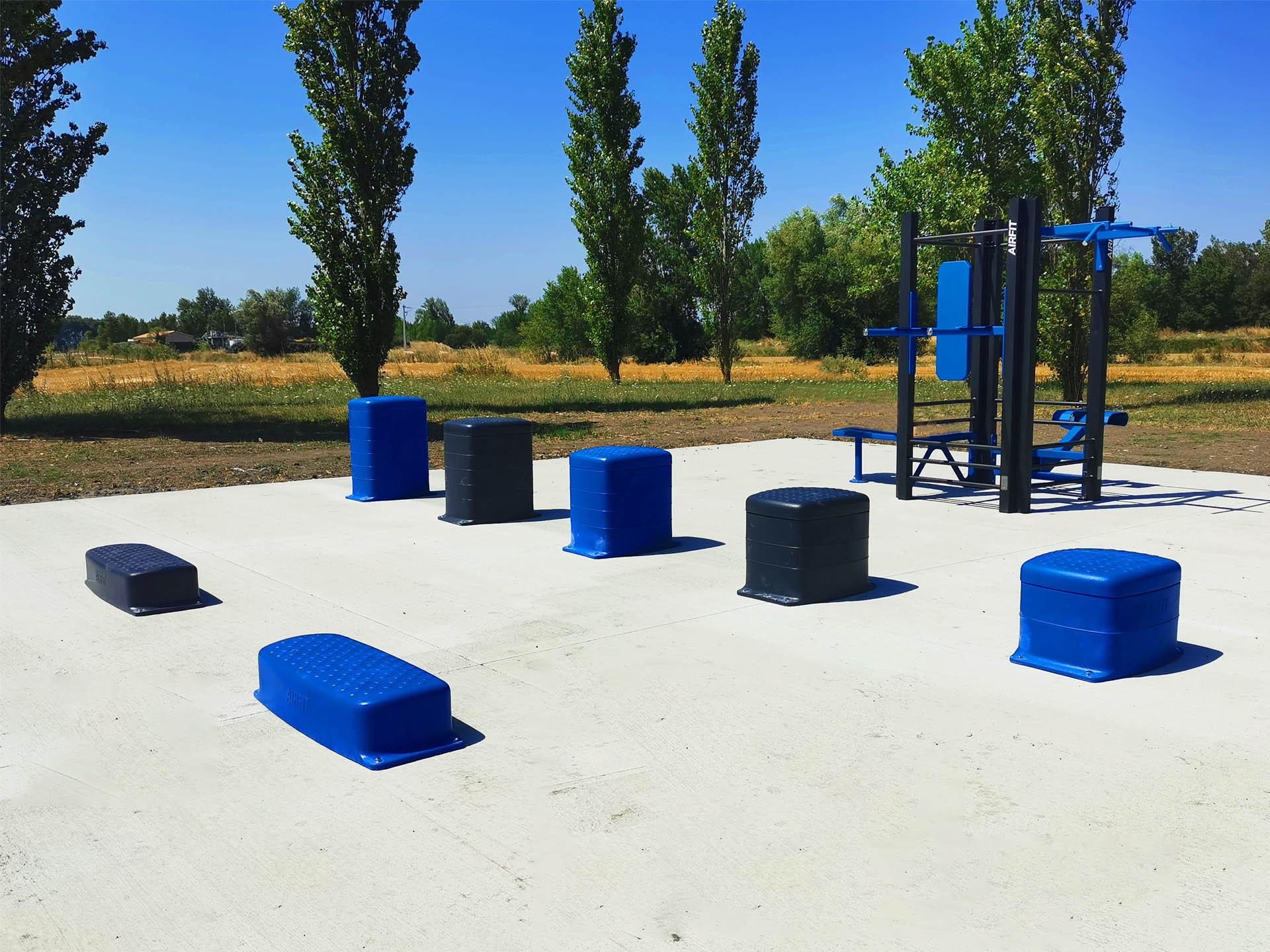 Photo de l'aire de Fitness de la ville de Bram
