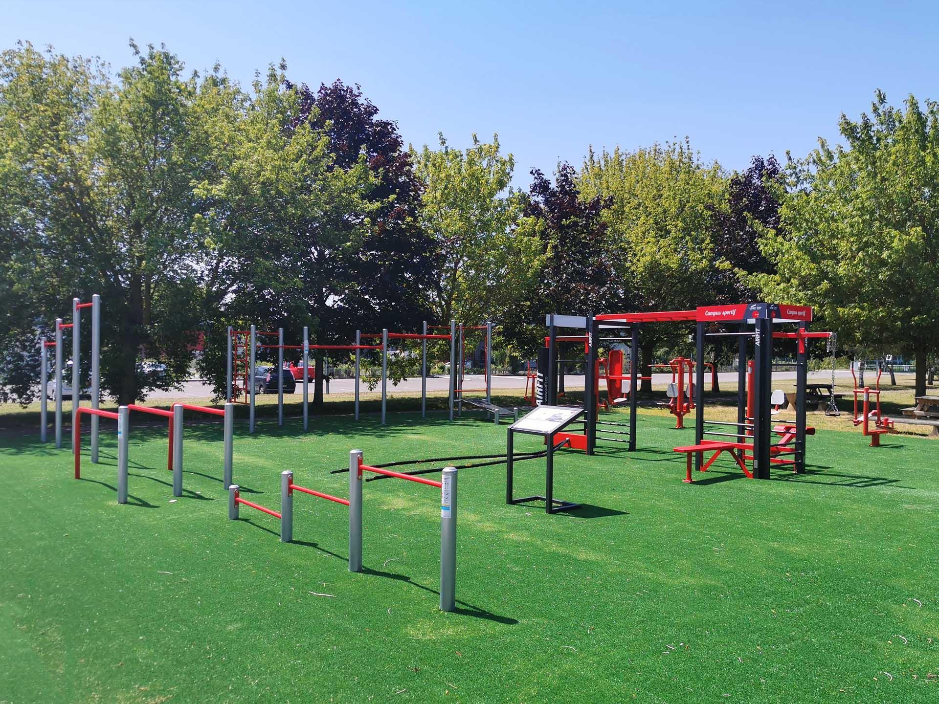 Photo du Plateau Sportif pour les étudiants de l'IUT Sénart