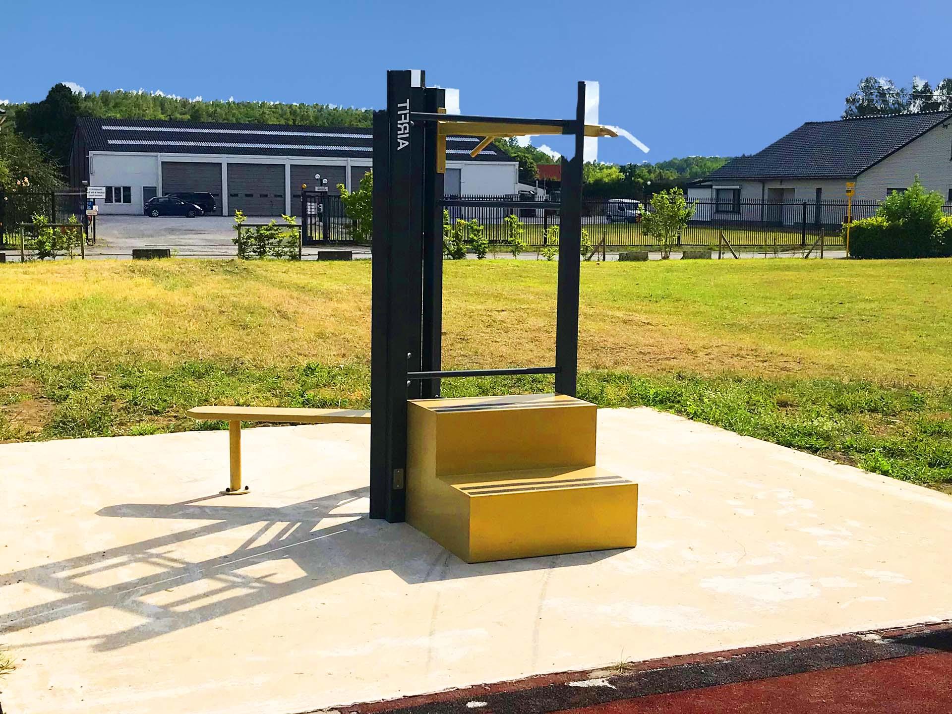 Photo d'un équipement fitness de proximité à Chapelle lez Herlaimont en Belgique