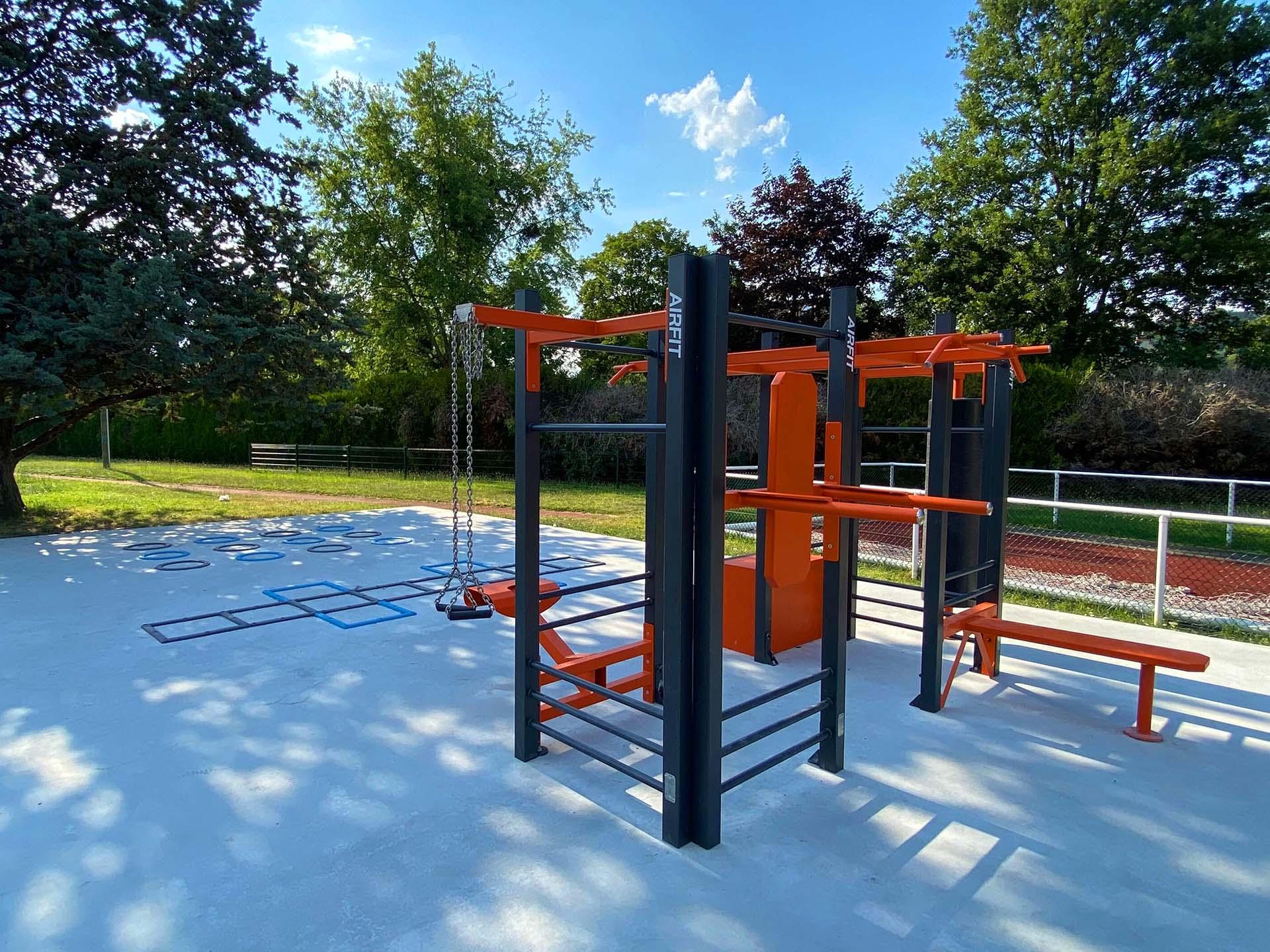 Photo des équipements sportifs de fitness et de Cross-Training d'Orsay