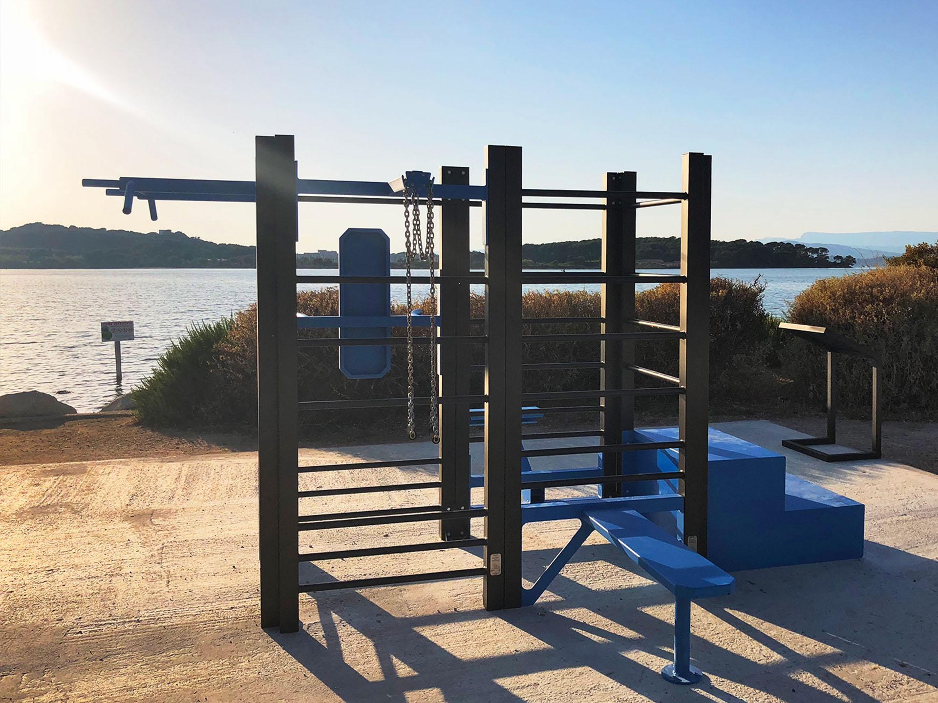 Photo de l'équipement sportif à l'île du Petit Gaou - Six-Fours-les-Plages