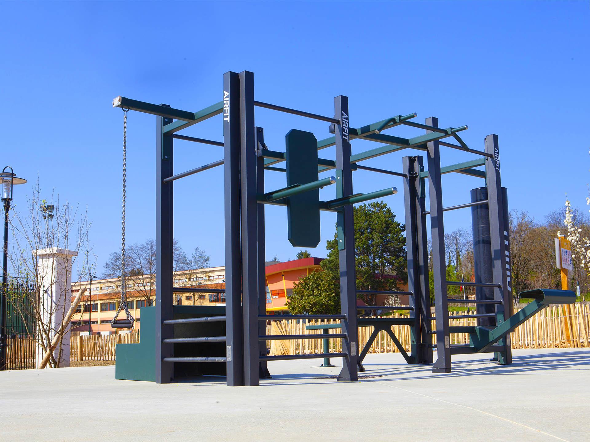 Photo du nouvel équipement sportif du complexe Marcel Gonzales à Genas