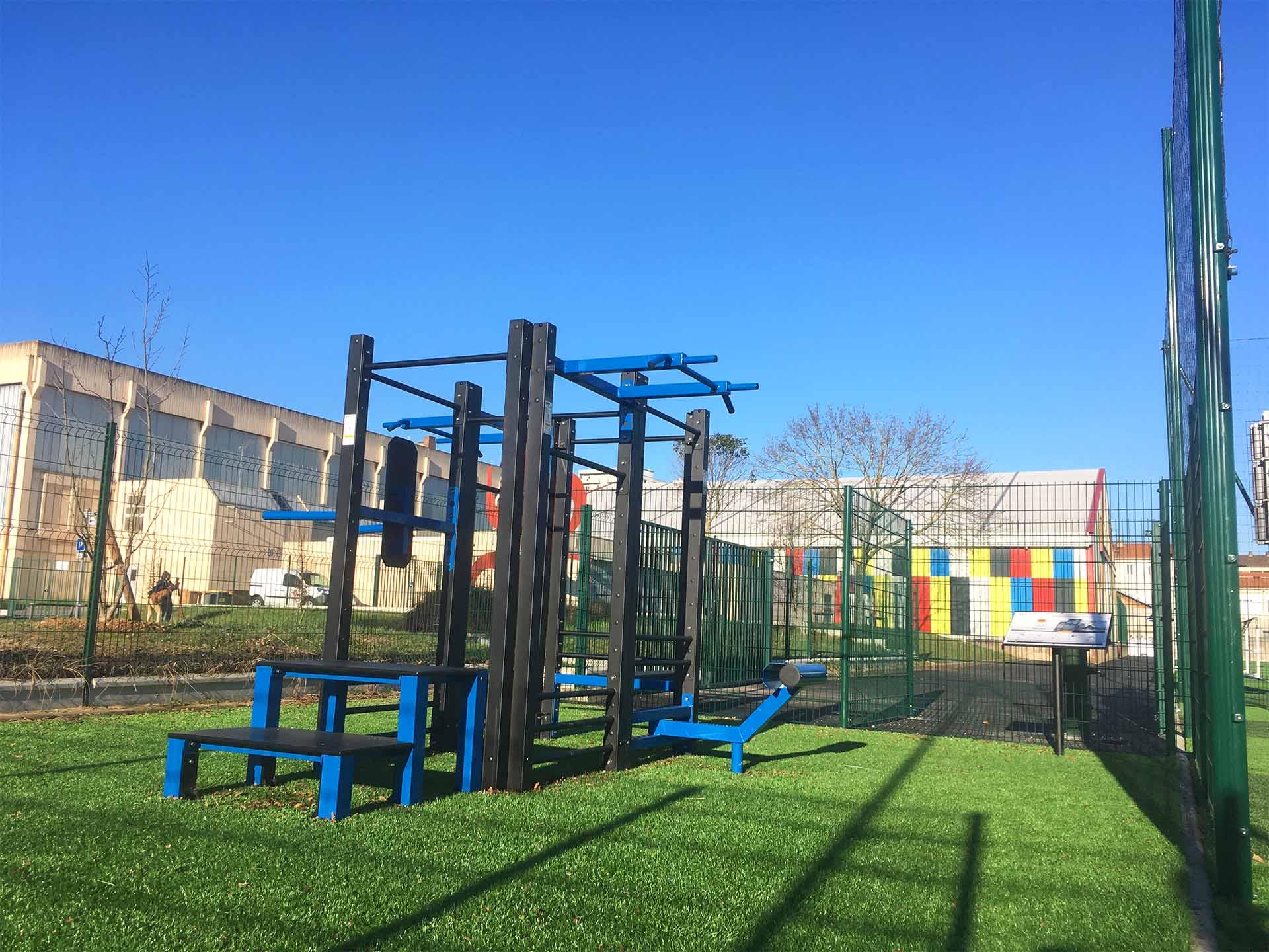 Photo de la Staion de Cross-Training au complexe sportif Georges Gosnat - Vitry