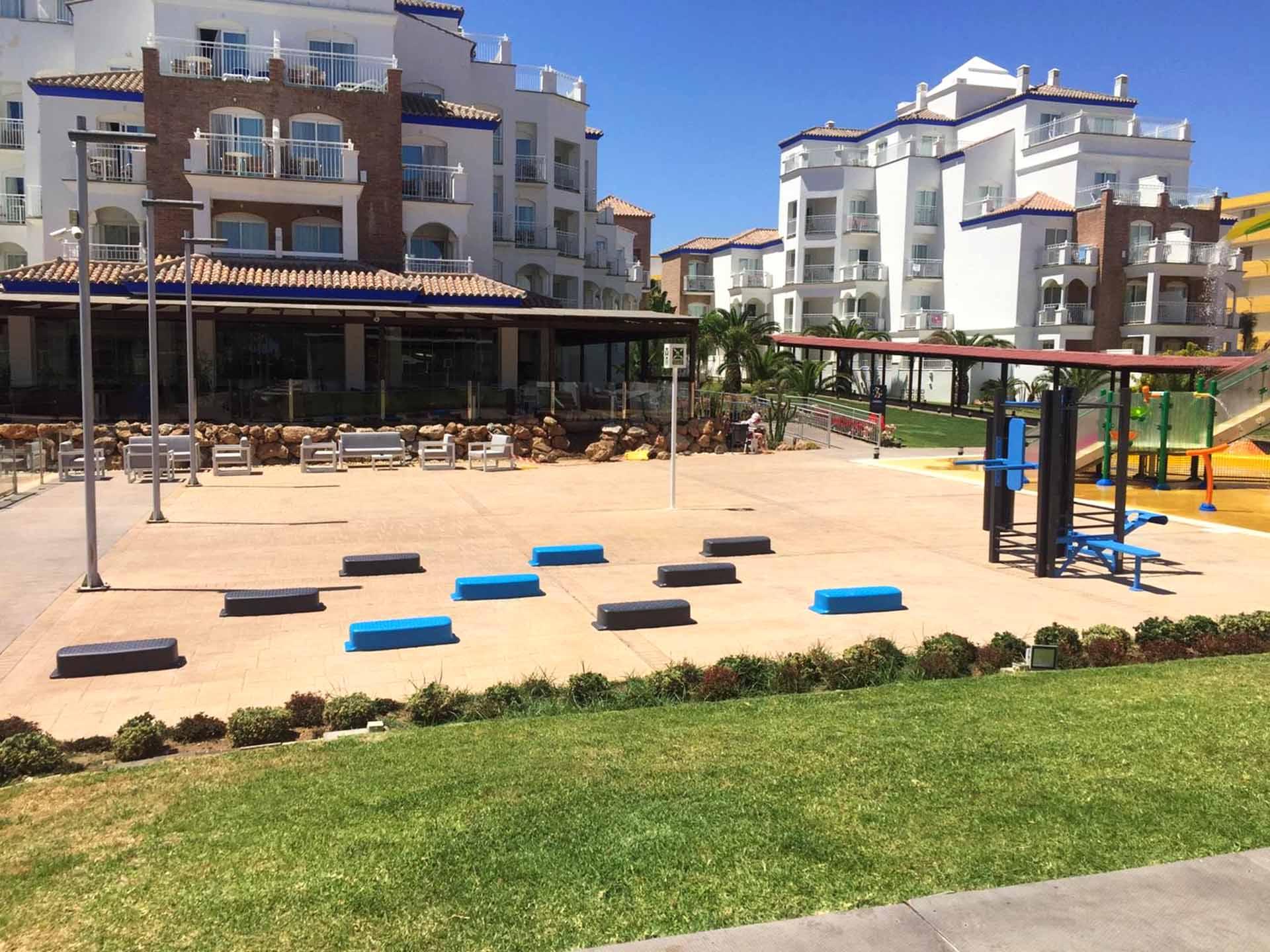 Photo du plateau sportif de l'Hôtel SMY Malaga