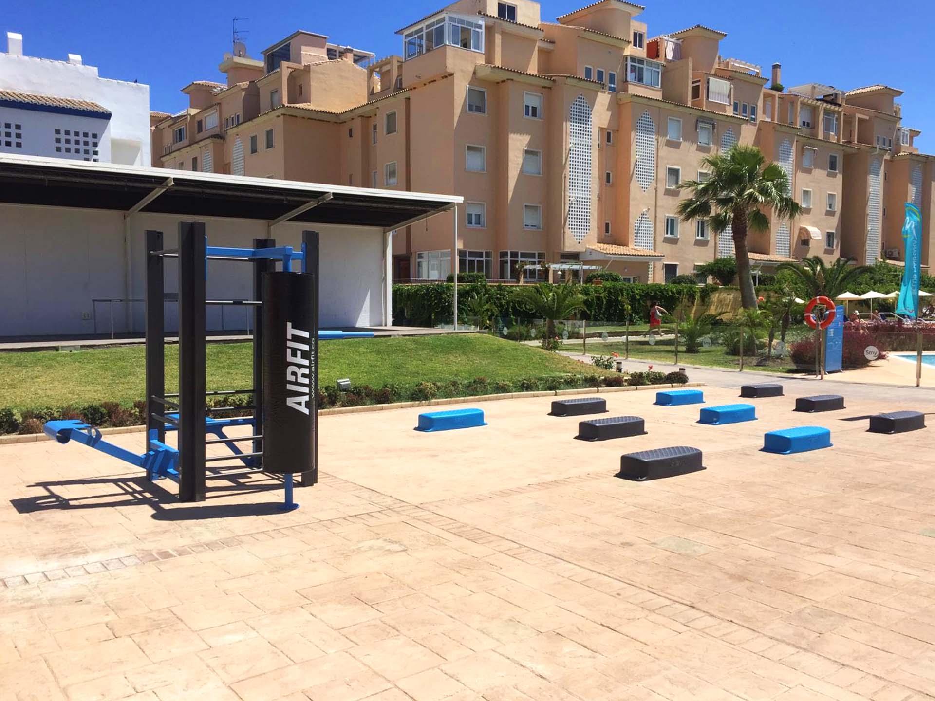 Photo de l'aire de fitness de l'Hôtel SMY Malaga