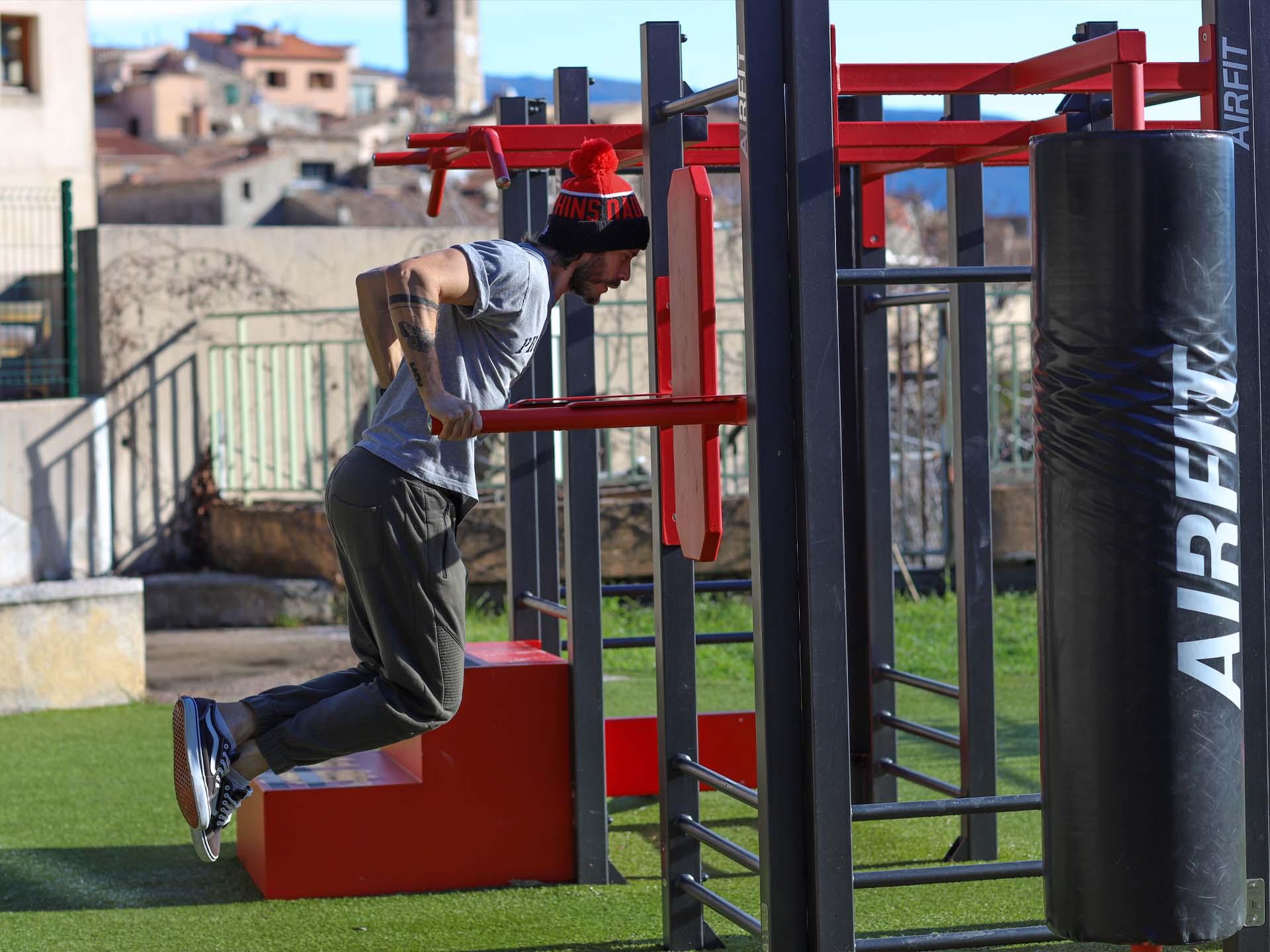 Photo de l'aire de fitness AirFit de Le Broc