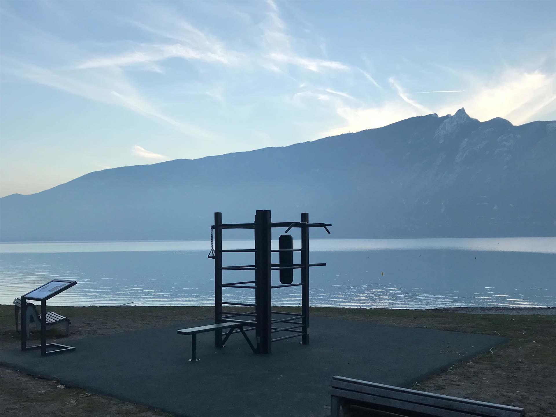 Photo de l'équipement de Fitness du Lac d'Aix-les-Bains