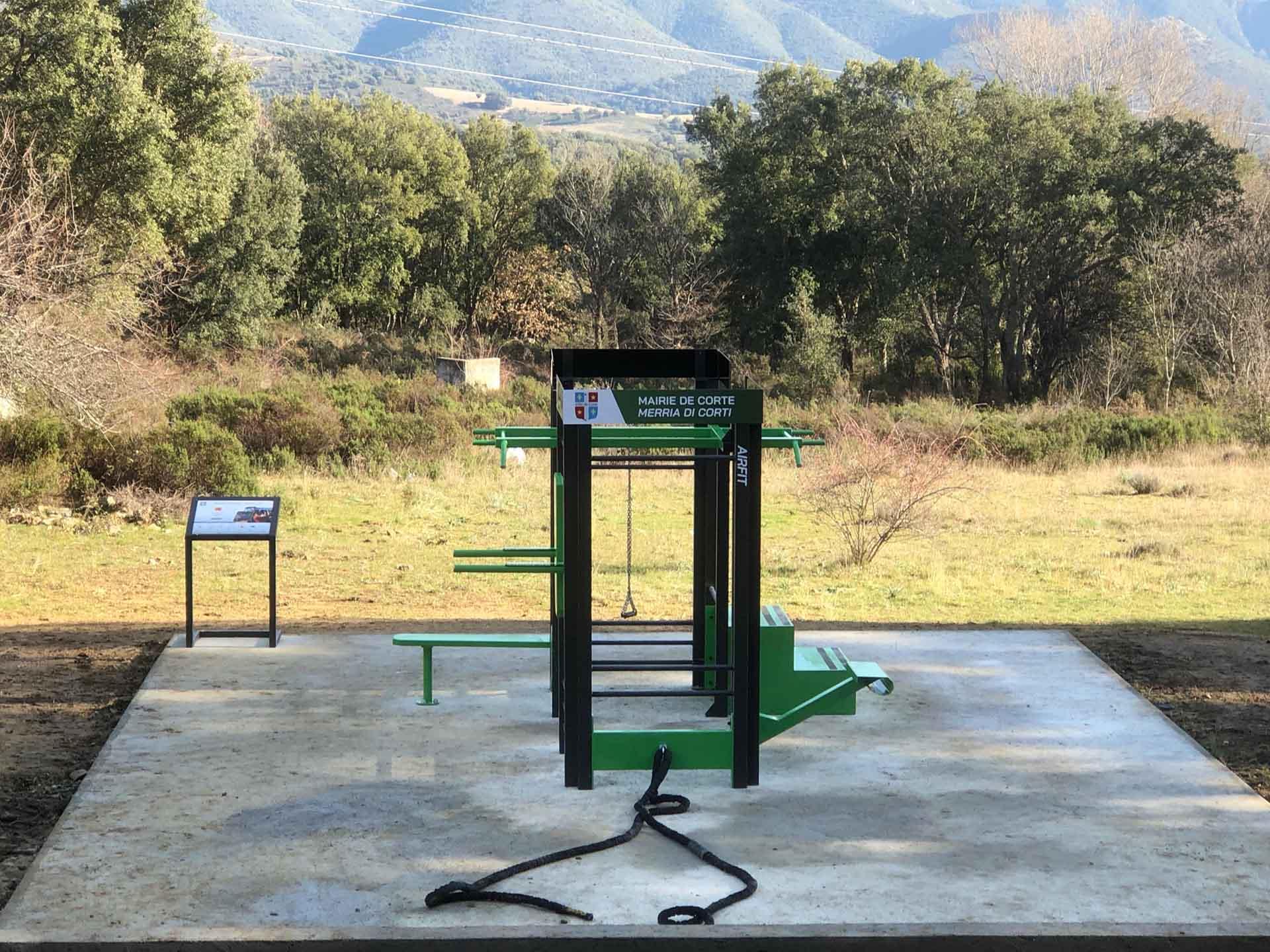 Photo d'une Station de Fitness AirFit 8 Faces à Corte
