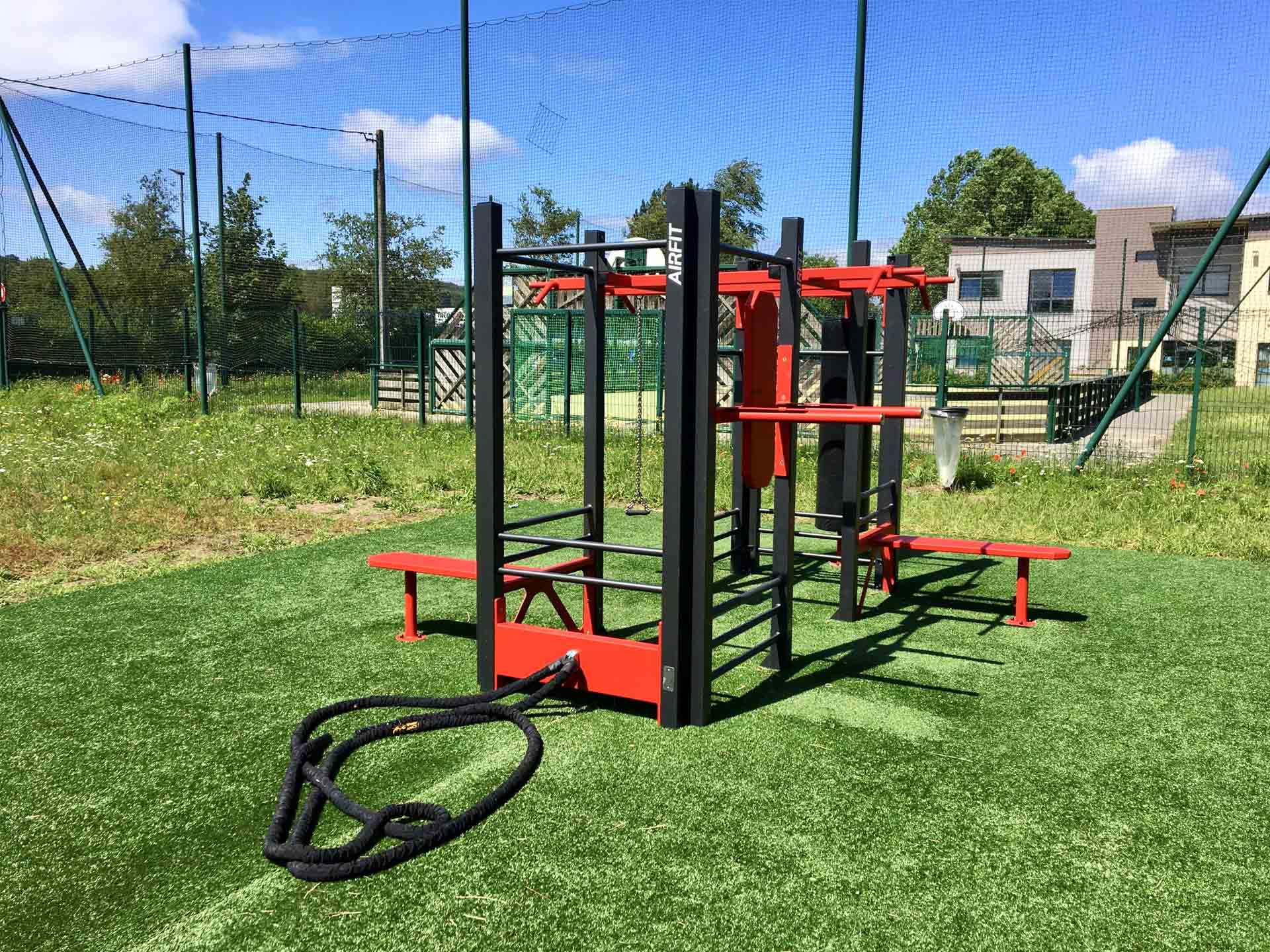 Photo de l'équipement sportif proche du City-Stade de Clermont de l'Oise