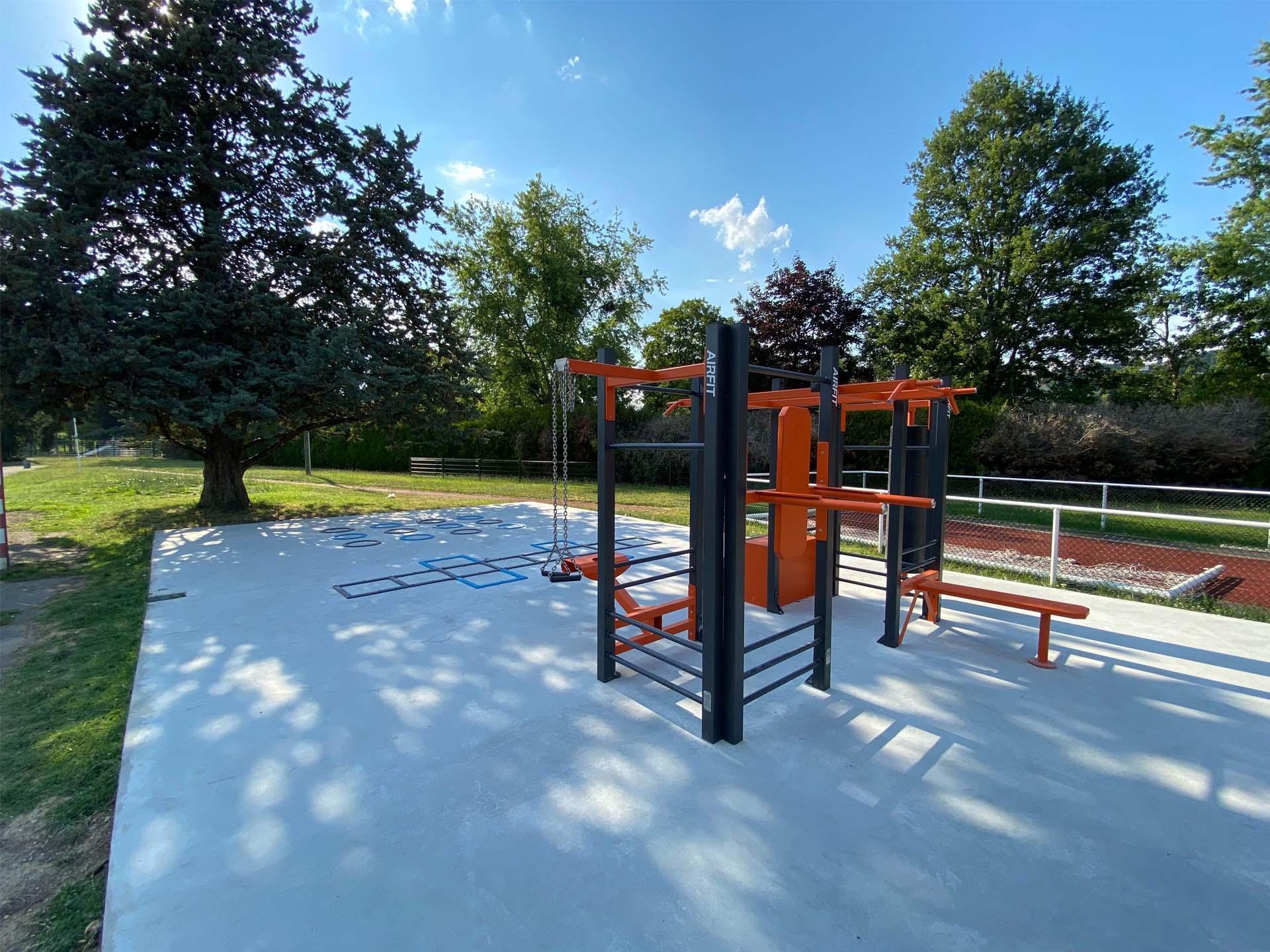 Photo du plateau sportif d'Orsay au Parc Municipal des Sports