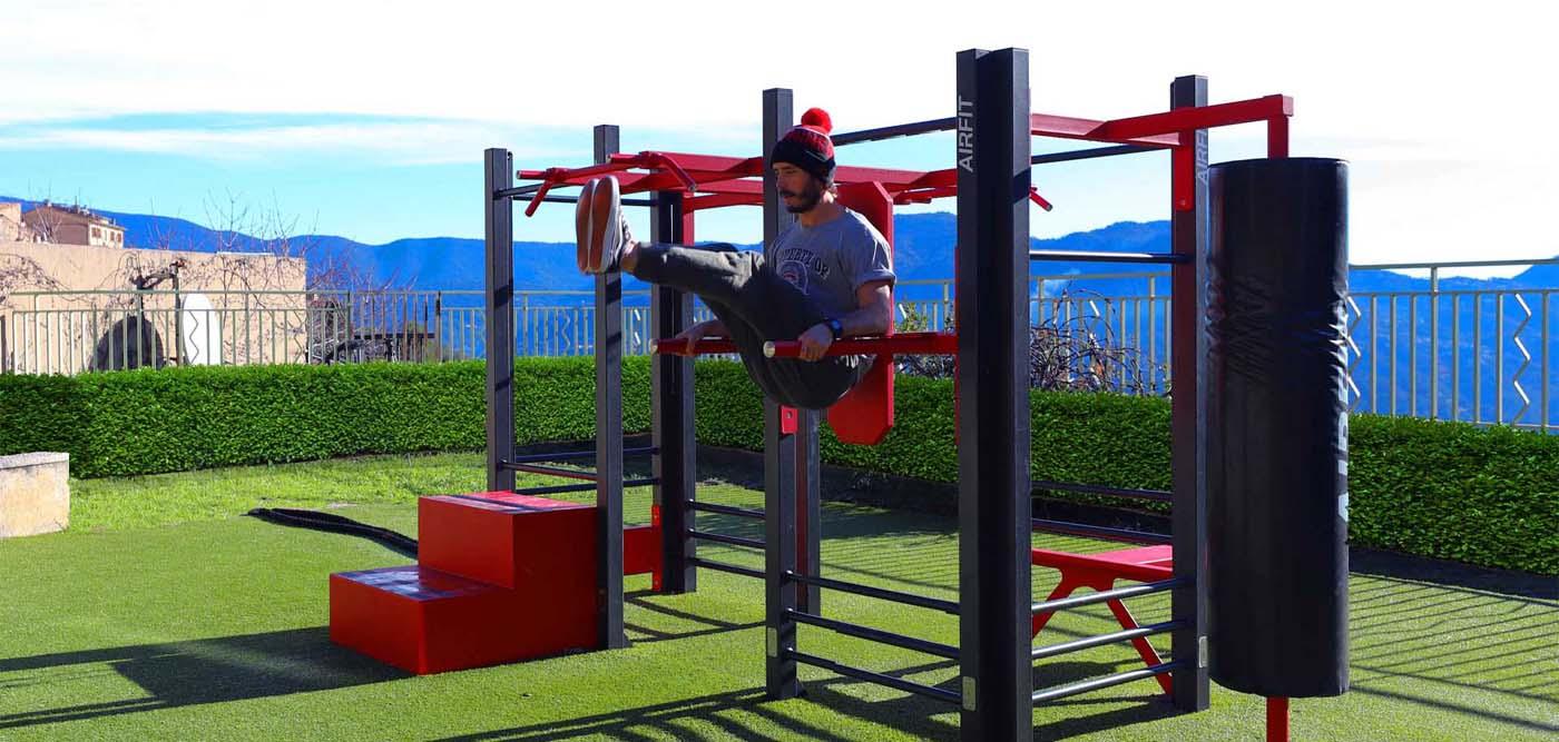 Photo de l'Aire de Fitness de Le Broc