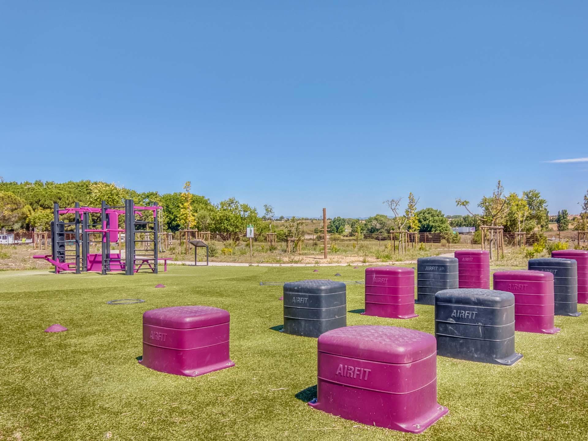 Photo des équipements sportifs du domaine de Bayssan à Béziers