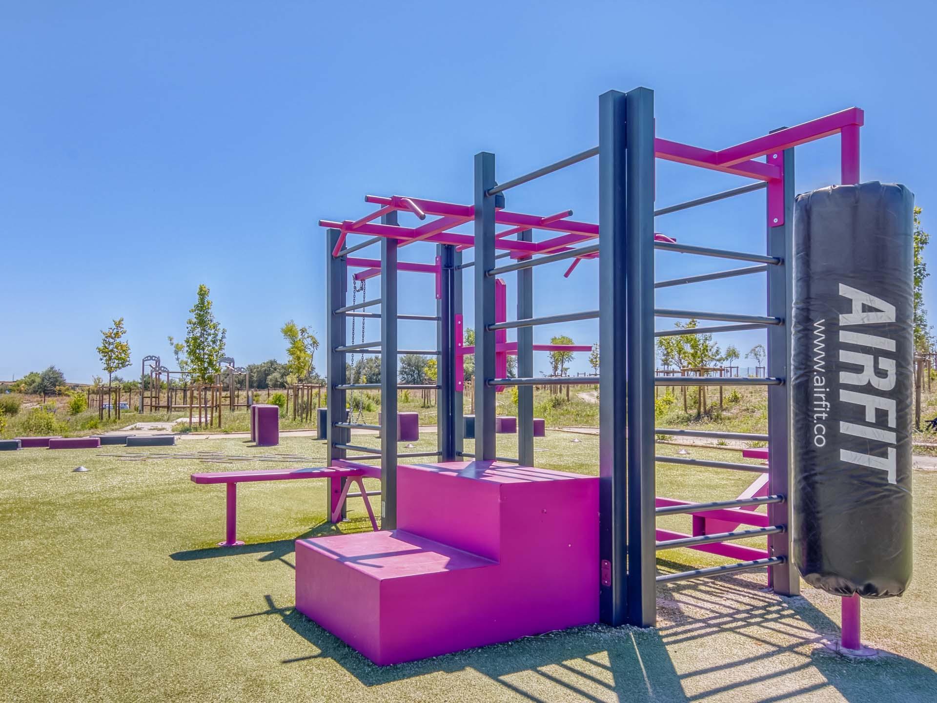 Photo de la Station de Fitness AirFit du plateau sportif de Béziers