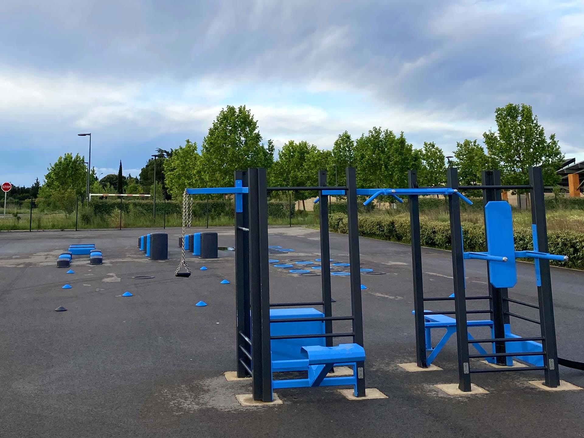 Photo des équipements sportifs du complexe Georges Frêche à Cournonterral