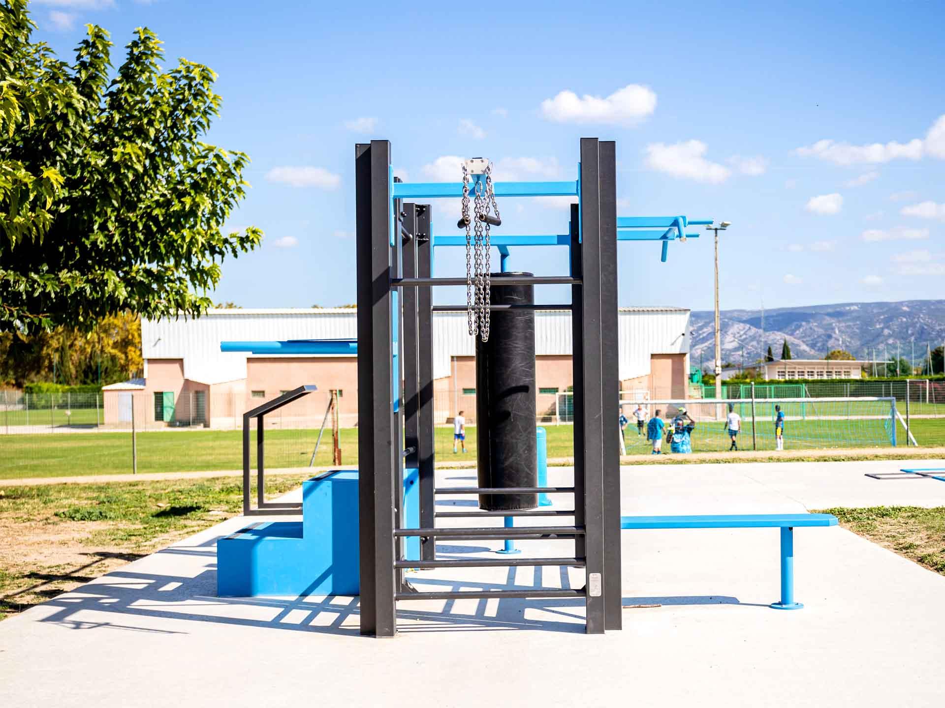 Photo des équipements fitness AirFit d'Orgon