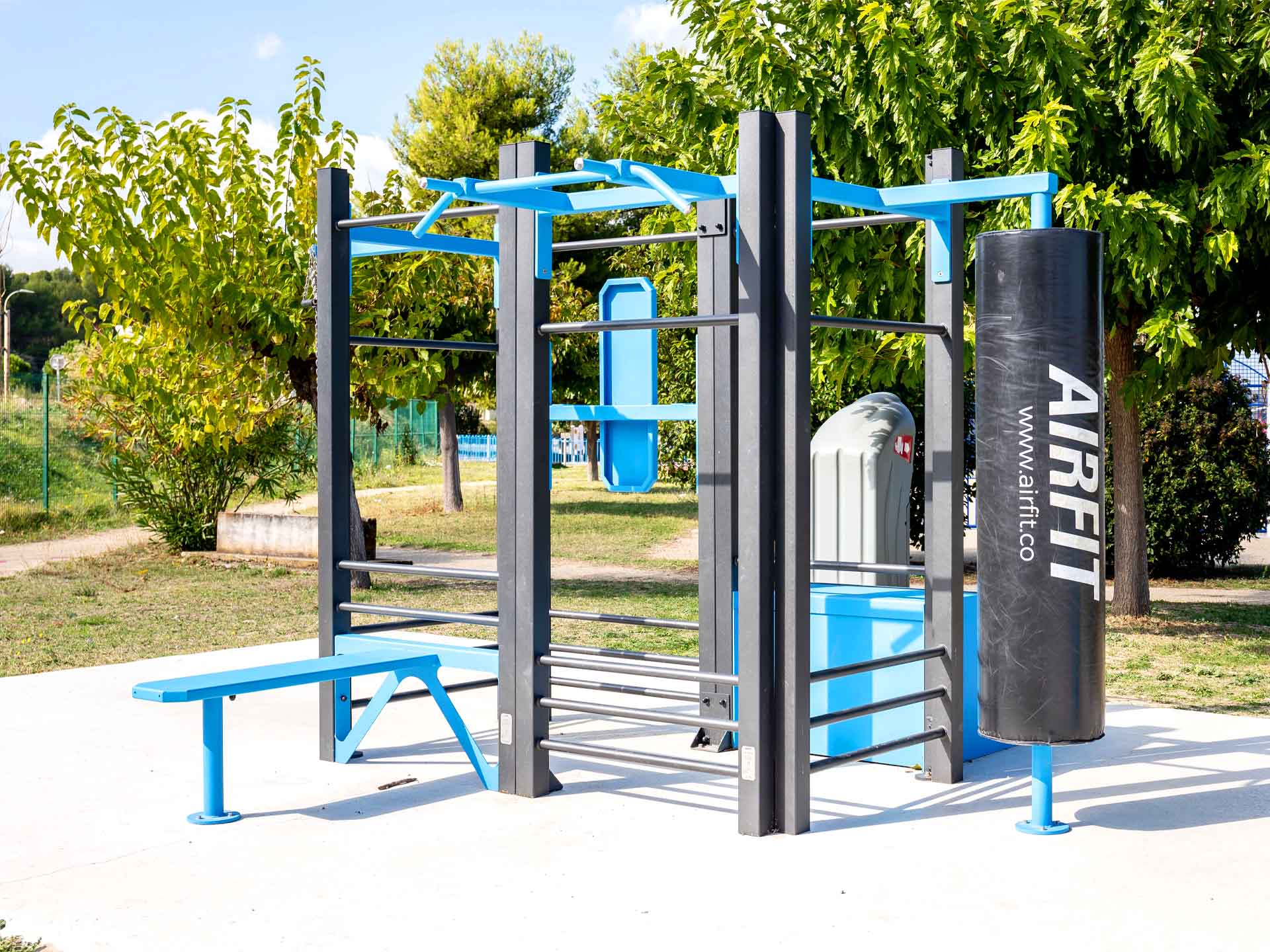 Photos des équipements sportifs de plein air d'Orgon