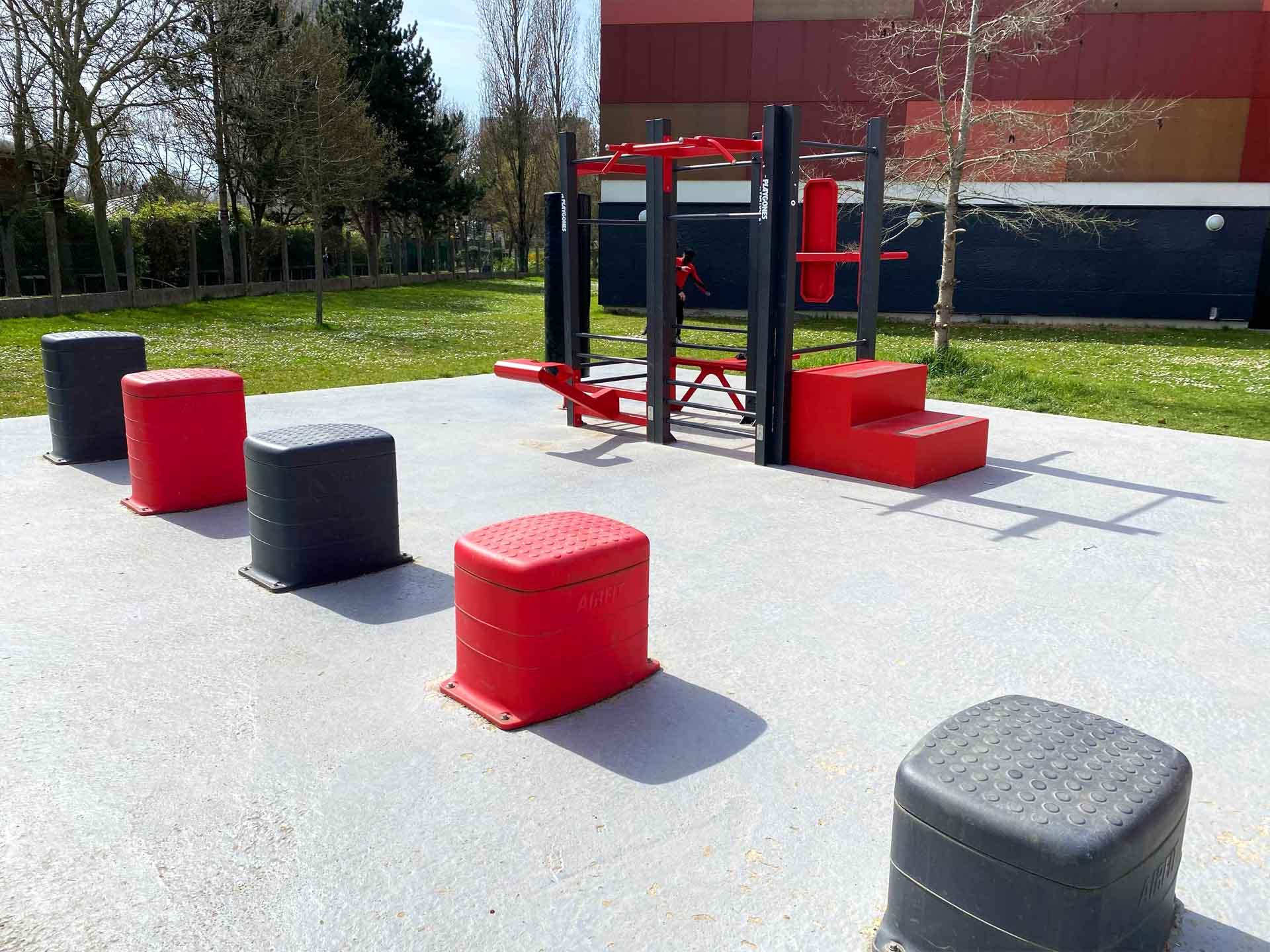 Photo des équipements de sport plein air AirFit à Antony