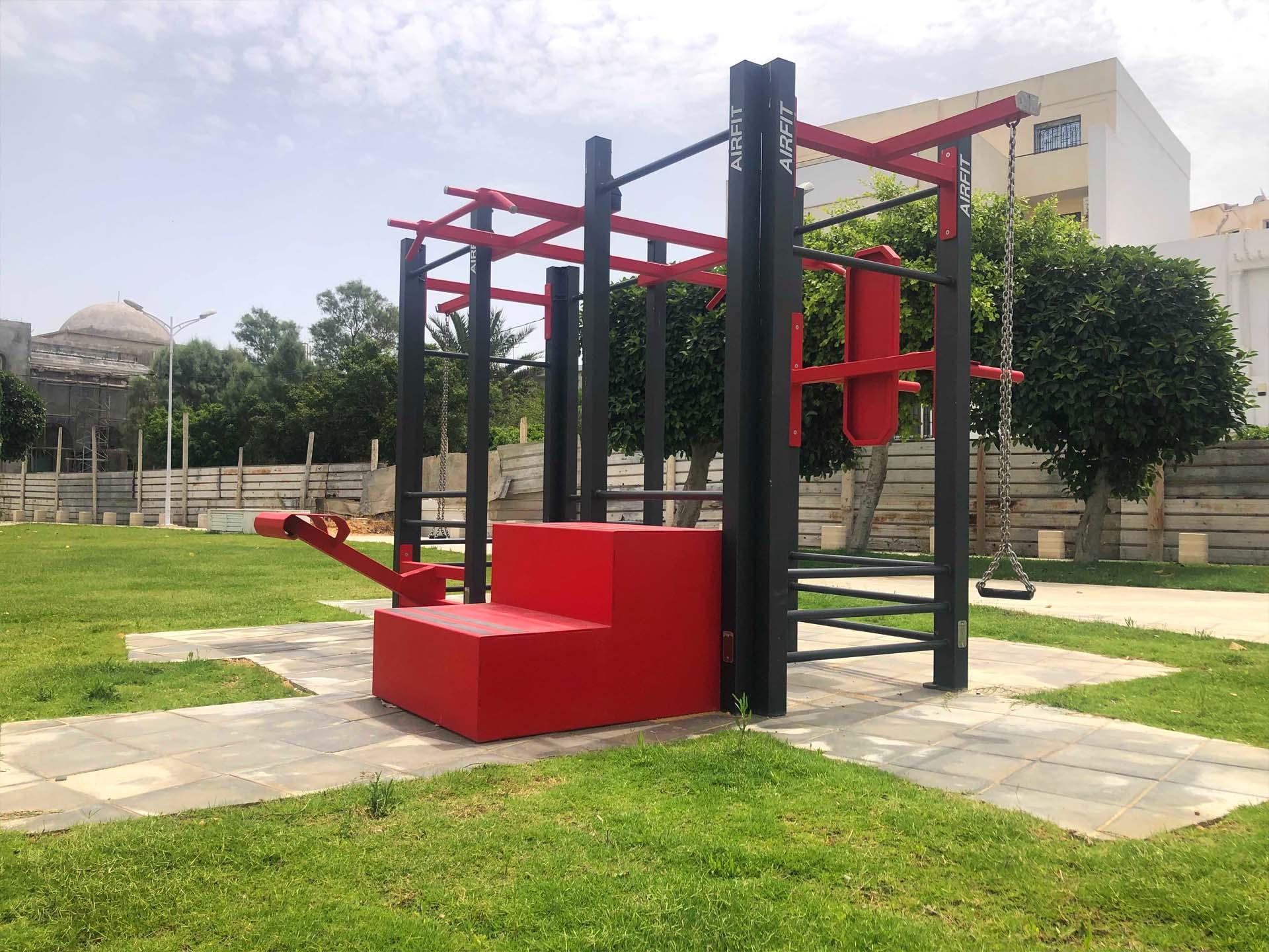 Photos des équipements sportifs extérieurs de La Marsa - Tunisie