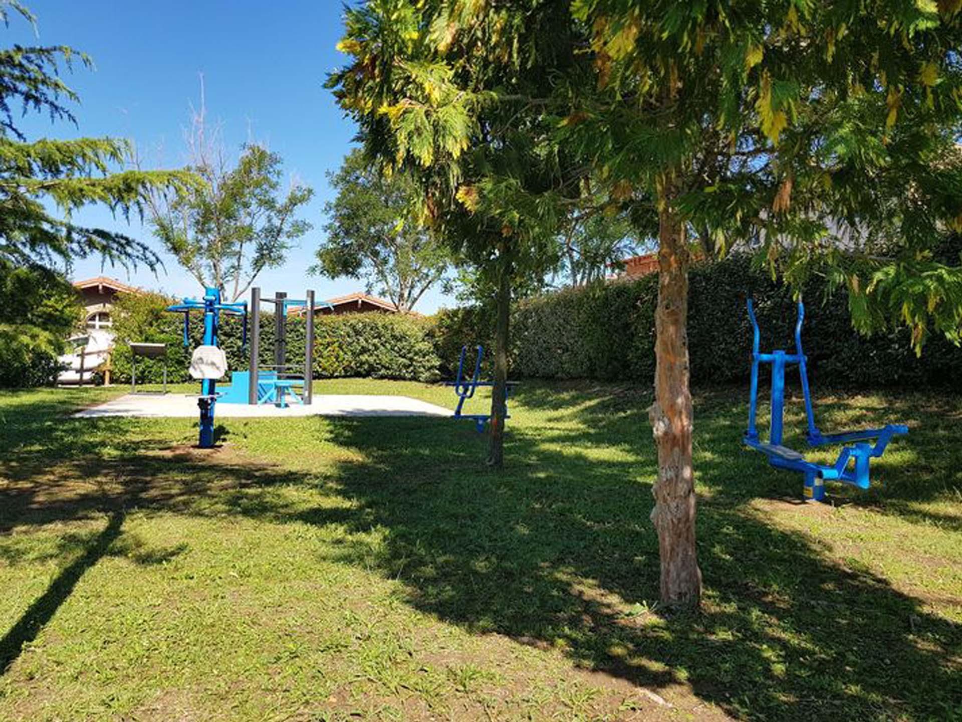 Photo des équipements sportifs de plein air de Meyreuil