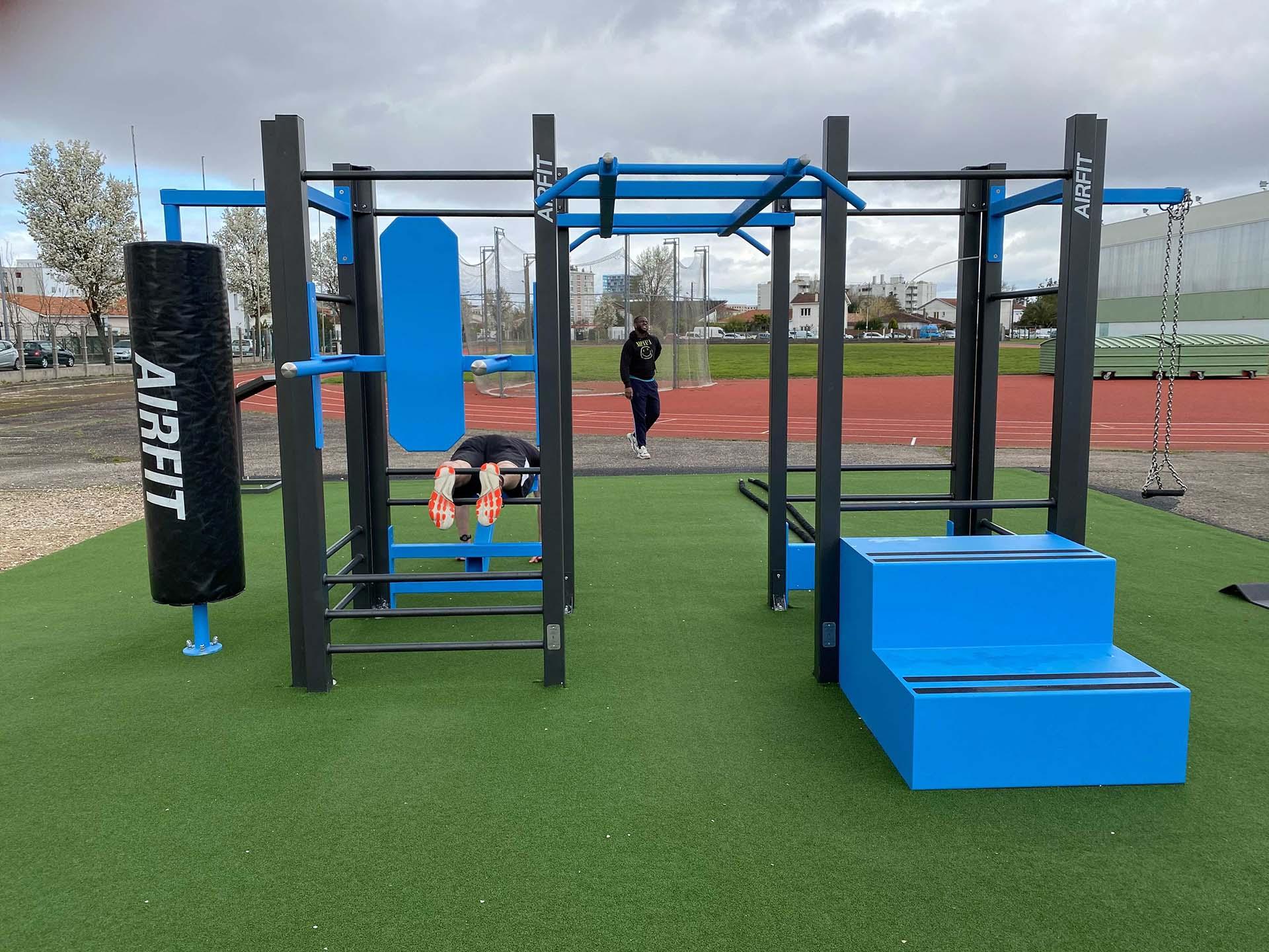 Photo de la station de fitness AirFit de Bègles - Complexe Duhourquet