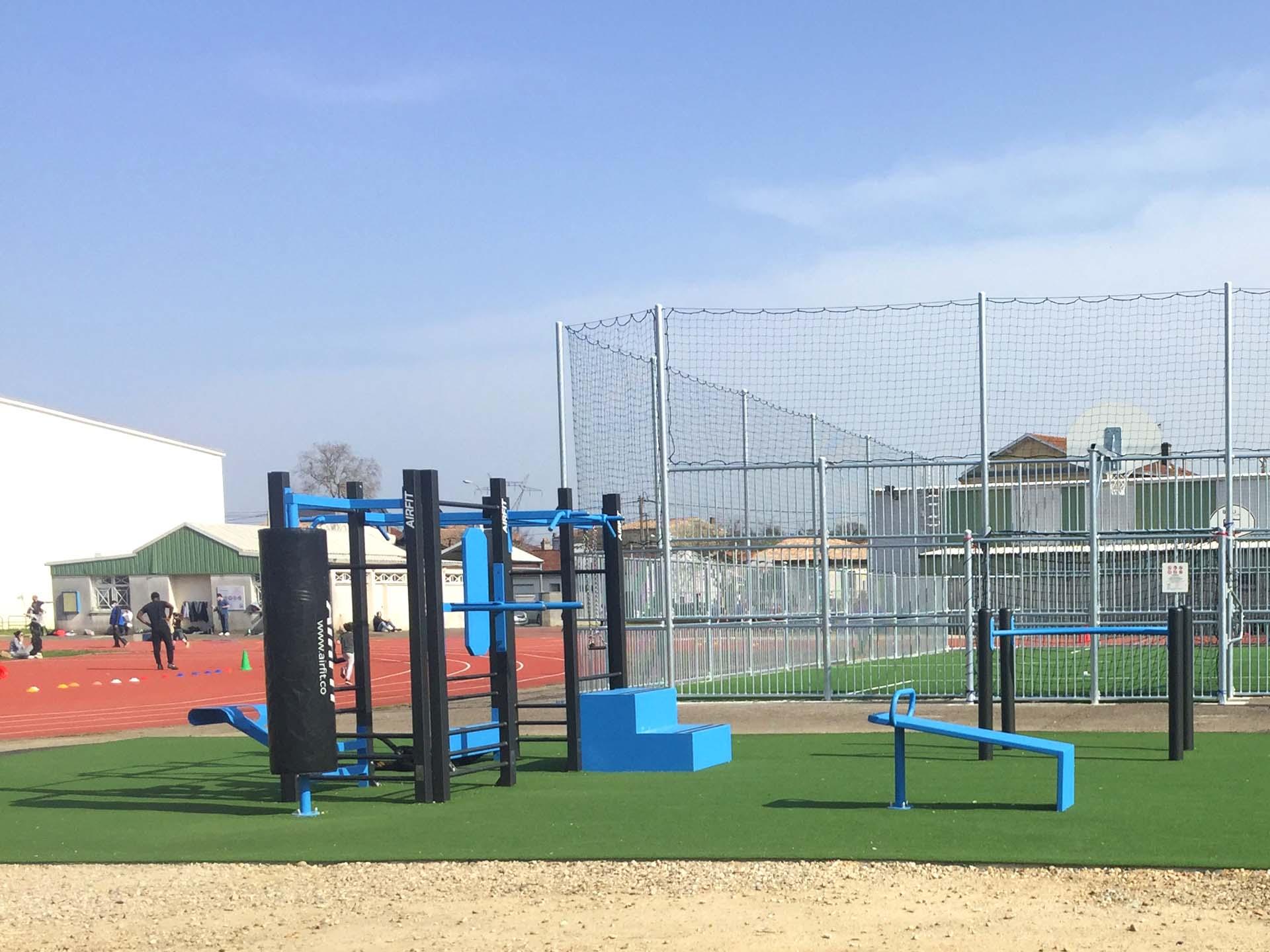 Photo de l'aire de sport plein air de Bègles - Duhourquet