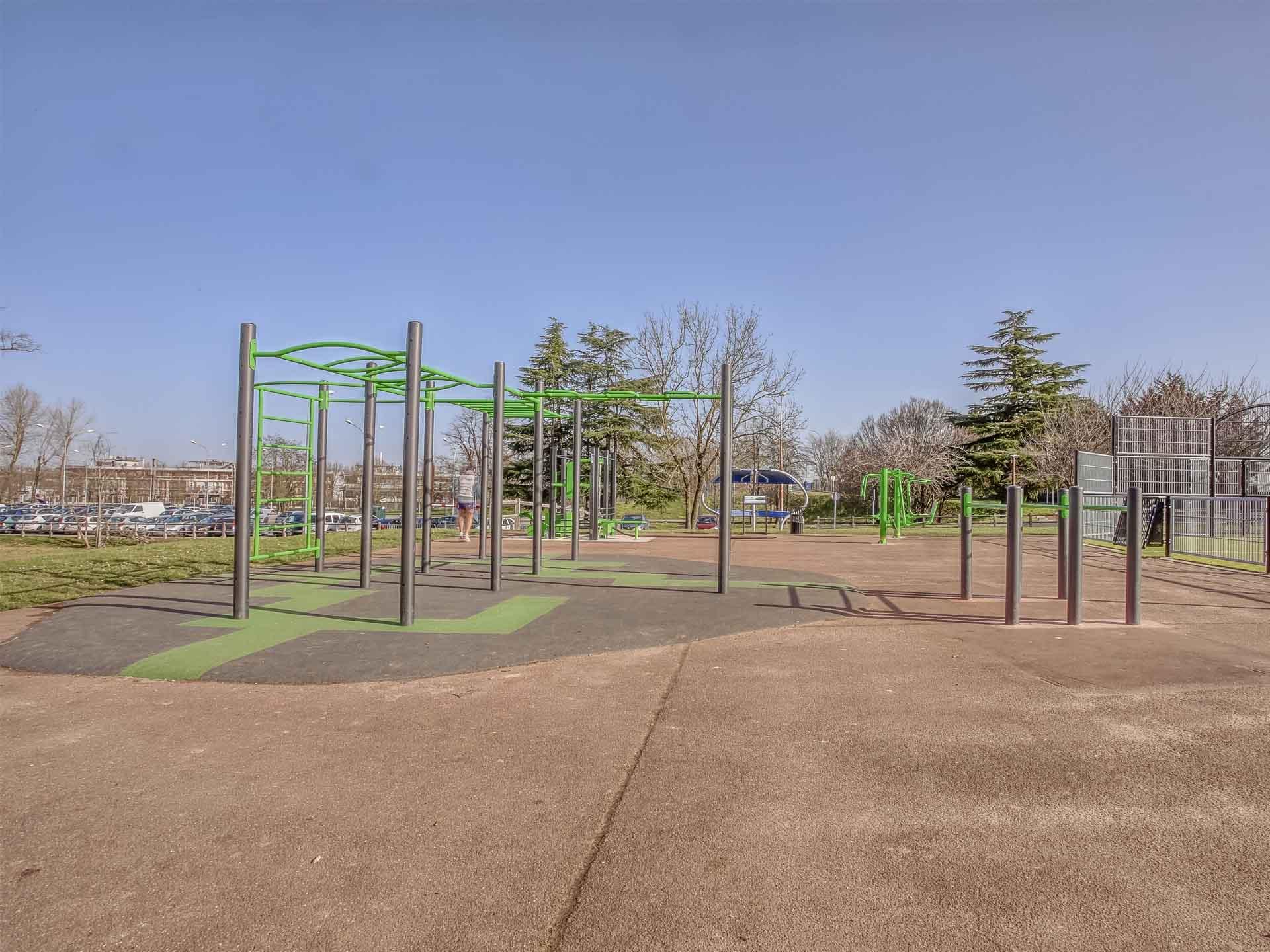 Photo du spot de Street-Workout de Quincy-sous-Sénart
