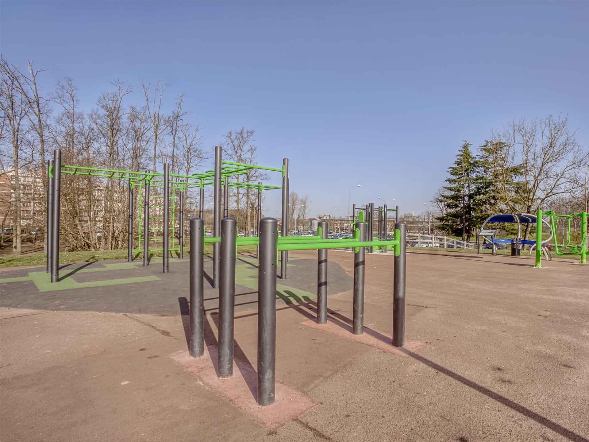 Photo des éléments de Street-Workout de Quincy-sous-Sénaaa
